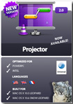 Projector for Mac