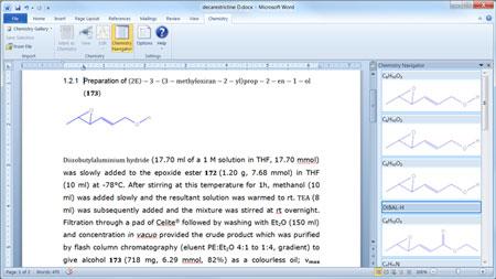 phần mềm vẽ công thức hóa học trong word