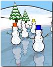 Snowmen Saver for Mac