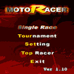 3D MotoRacer for Symbian