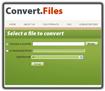 Convertfiles.com- chuyển đổi dữ liệu trực tuyến
