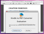 Kindle to PDF for Mac