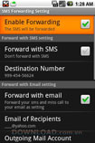 SMS Forwarding for Android