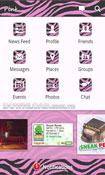 Pink (Zebra) for Facebook
