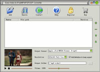 Easy Video to iPod/MP4/PSP/3GP Converter