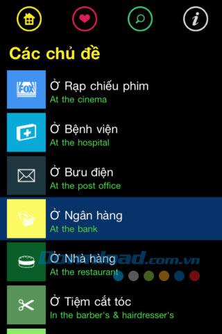 Sổ tay đàm thoại Anh-Việt for iOS