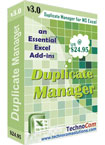 Excel Duplicate Manager