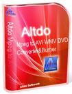 Altdo MPEG to AVI WMV DVD Converter&Burner