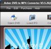 Acker DVD to MP4 Converter