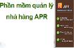 Phần mềm quản lý nhà hàng APR