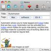 AutoNotes for Mac