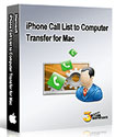 3herosoft iPhone Call List to Computer Transfer for Mac