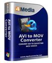 4Media AVI to MOV Converter