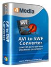 4Media AVI to SWF Converter