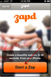 Zapd for iPhone