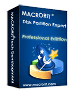 Macrorit Disk Partition Expert Professional Edition