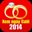Xem ngày cưới 2014 for iOS