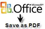 Microsoft Save as PDF