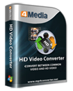 4Media HD Video Converter