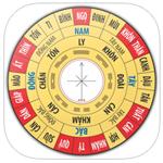 La bàn phong thủy Pro cho iOS