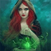 The Witch's Green Amulet