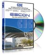 Phần mềm dự toán Escon