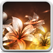 Glowing Flowers Live Wallpaper cho Android