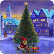 Christmas Rink Live Wallpaper cho Android