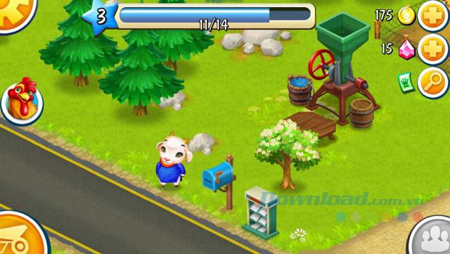 Farmery cho iOS 5.1 Game nông trại hấp dẫn trên iPhone/iPad
