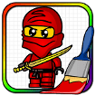 Ninjego Coloring Book cho Android