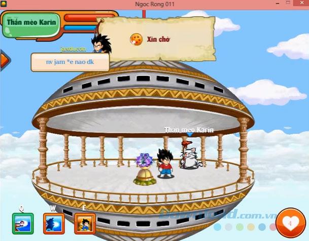 Chiêu tấn công trong game Chú Bé Rồng