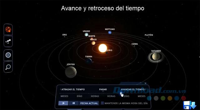 Mô phỏng hệ mặt trời
