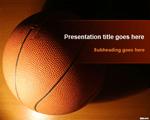 Mẫu PowerPoint hình bóng rổ