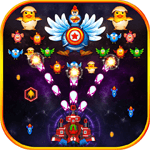 Chicken Shooter: Galaxy Invaders cho iOS