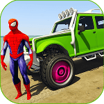 Superheroes Buggy Car Stunts 3d cho Android