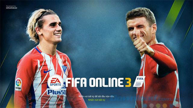Màn hình chính FIFA Online 3