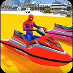 Superheroes Jet Ski Stunts cho Android