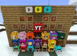 Youtuber's Lucky Blocks Mod