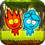 Red boy and Blue girl - Forest Temple Maze 2 cho Android
