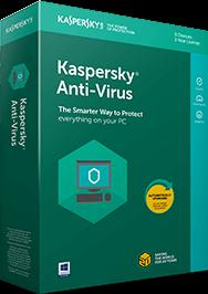 Kaspersky Anti-Virus 2021 - Tiếng Việt