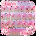 Pink Sakura Flower Keyboard theme cho Android