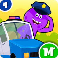 My Monster Town - Police Station cho Android