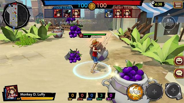 Tận dụng kỹ năng của từng anh hùng trong game ONE PIECE Bounty Rush
