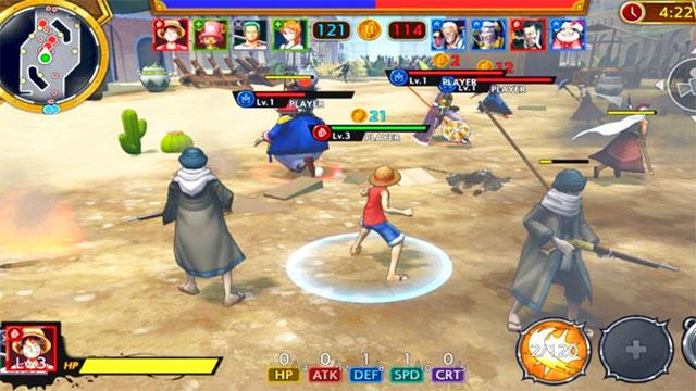 Khám phá hàng loạt bổ trợ mới để tăng cường sức mạnh cho nhân vật trong ONE PIECE Bounty Rush game