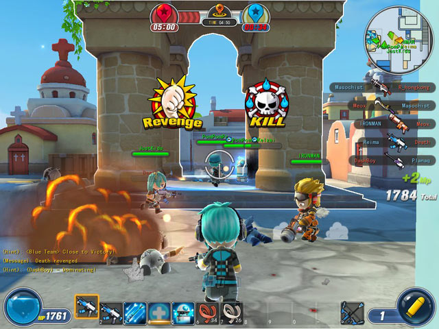 Giao diện game Avatar Star Online