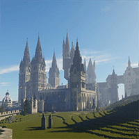 Harry Potter in Minecraft