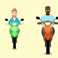 Phần mềm luyện thi bằng lái xe máy