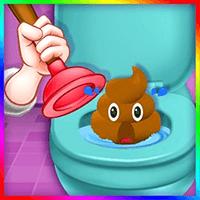 Kids Bathroom Clean up