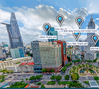 Ho Chi Minh City 3D