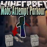 Mobs Attempt Parkour Mod